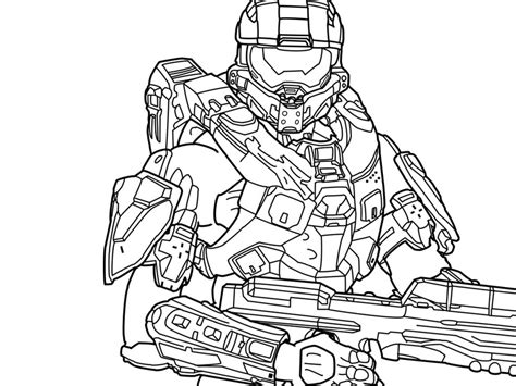 halo coloring pages halo color pages az coloring pages