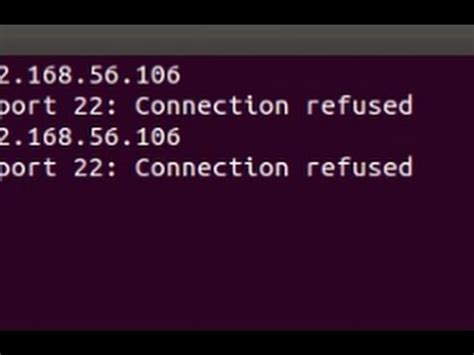 ssh 22 connection refused ubuntu server problem ssh connect to host 192 x 22