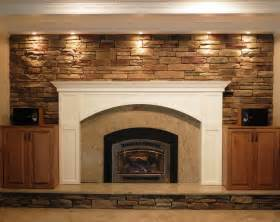 fireplace makeover family room cleveland by