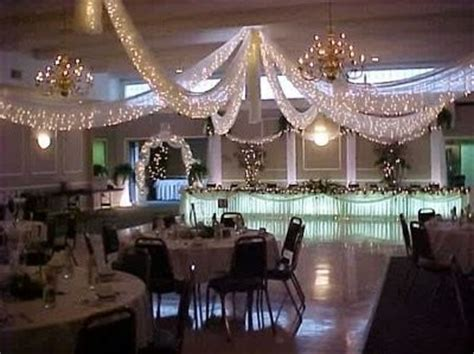tulle ceiling draping how to hang tulle for the reception cieling with xmas