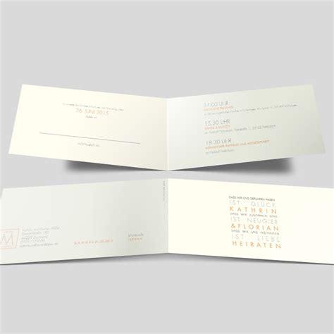 Hochzeitseinladungen Schlicht Modern by Wort Hochzeitseinladung Schlichte Typografie