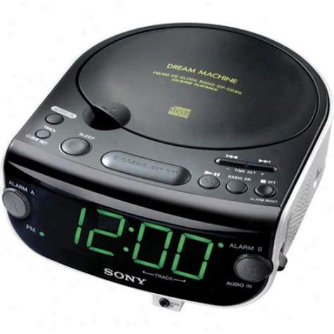 sony icf cd815 cd clock radio with 3 mode dual alarm cd radio buzzer audio accessories