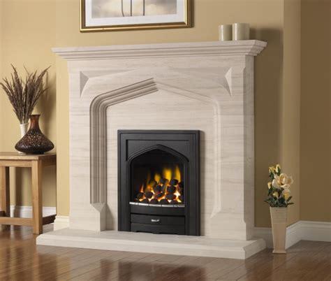 limestone fireplaces stoke gas electric