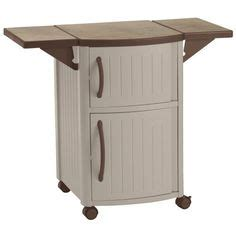 Suncast Patio Cabinet And Prep Station by Outdoor Prep Station Patio Portable Bbq Cabinet Storage