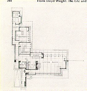 frank lloyd wright usonian floor plans usonian homes