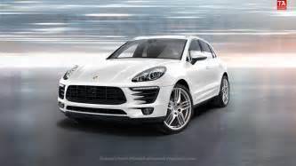 How Much Is A Porsche Macan Tessoart Porsche Macan S In White With Sportdesign Wheels