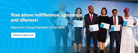 Mba Competition 2018 by Un Environment Chions Of The Earth Competition