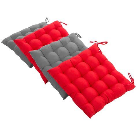 cuscini imbottiti levivo cuscini imbottiti per sedie in set da 4 cuscini