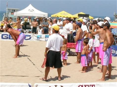 manhattan  man beach volleyball tournament