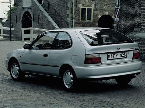 Toyota Corrolla 98 Toyota Corolla Compact 3 Door E100 1991 98 Photos