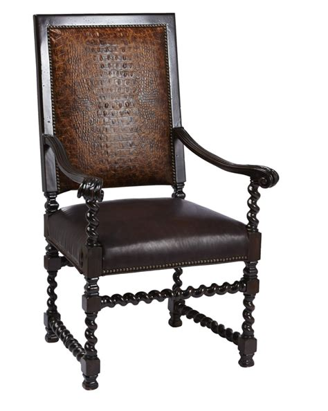 Western Dining Chairs Croco Rust Dining Chair Western Dining Chairs Free Shipping
