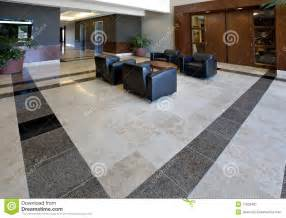 Bathroom Tile Designs Ideas office lobby showing tile floor stock image image 11932461