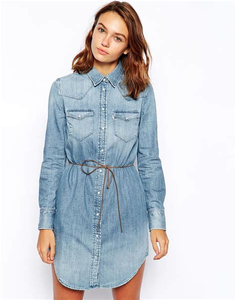 light blue jean dress 32 beautiful denim dress to inspire your daily fashion