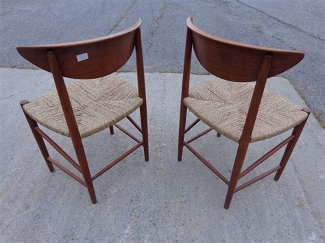dining chairs by hvidt and m 248 rlgaard in teak and seagrass