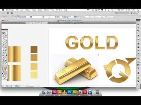 adobe illustrator cs6 gradient text adobe illustrator gradient gold text logo awesome