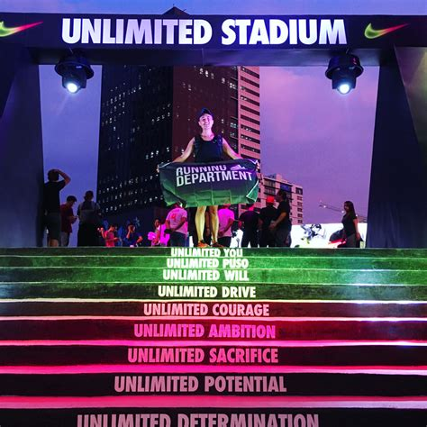 nike s unlimited stadium in manila is the world s first my nike unlimited experience go beyond your limit