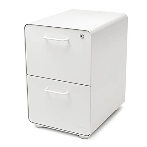 Poppin File Cabinet by Poppin White Stow 2 Drawer File Cabinet Office Store