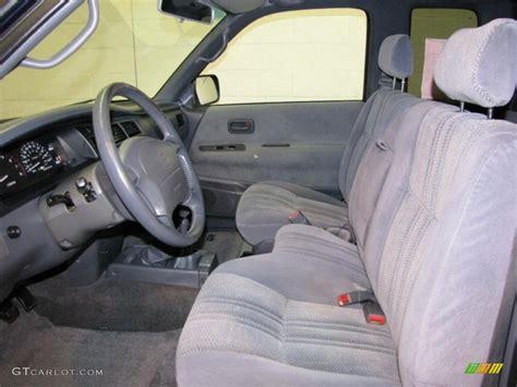 T100 Interior by 1998 Cool Steel Metallic Toyota T100 Truck Sr5 Extended Cab 4x4 32054503 Photo 9 Gtcarlot