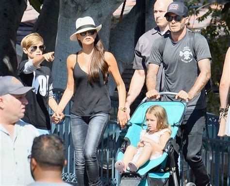 Beckham Beyonce For Disney by Embracing The Magic At Disneyland Pictures