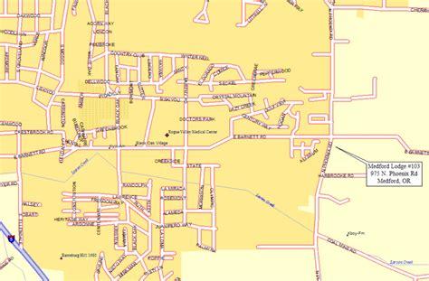 map of oregon city area medford oregon city map medford oregon mappery