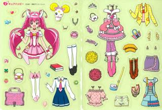 Sendok Anak Set Hello For Sale In Japan Only 041958 miss paper dolls smile pretty cure set