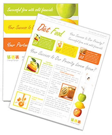 Fitness Newsletter Template Design Id 0000000722 Smiletemplates Com Free Fitness Newsletter Templates