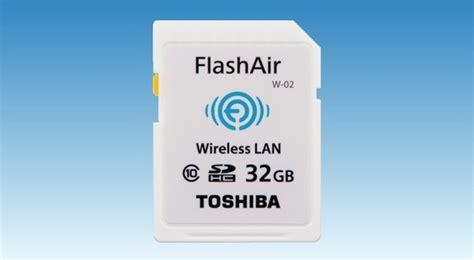 Memory Card Dengan Wifi Review Toshiba Flashair Sd Card Kartu Memori Canggih