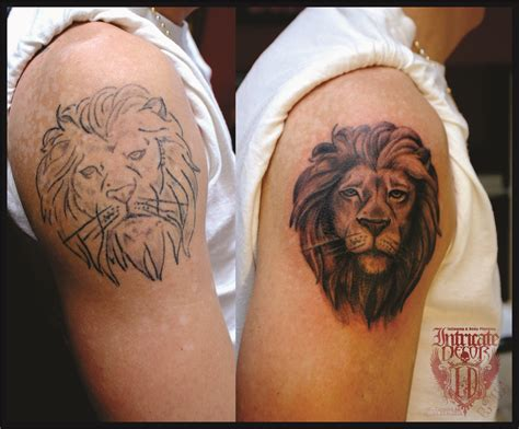 epic tattoo fail fixed tattoo fails lion www pixshark com images galleries