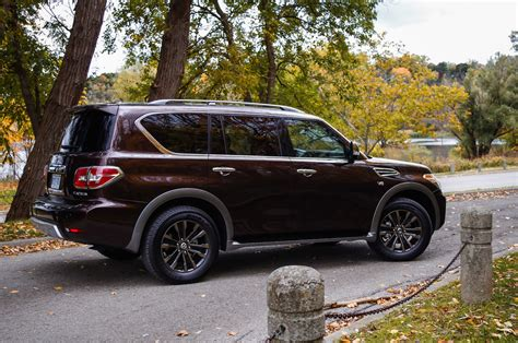 nissan platinum armada 2017 review 2017 nissan armada platinum canadian auto review