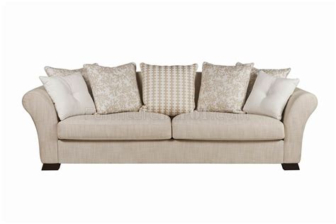 beige fabric modern sofa loveseat set w optional items