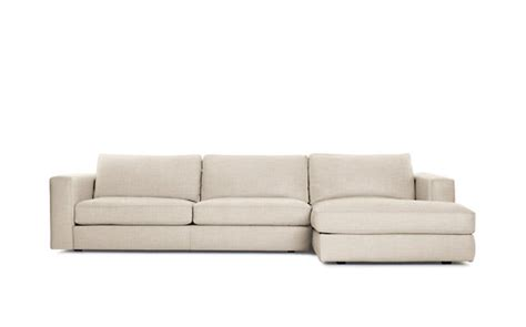 reid sofa dwr reid sectional chaise right fabric design within reach