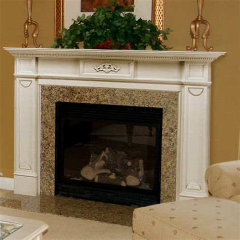 Wood Fireplace Surrounds by Pearl Mantels Monticello Wood Fireplace Mantel Surround