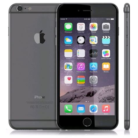apple iphone 6 plus 16gb space gray unlocked smartphone ship worldwide 6684083846133 ebay