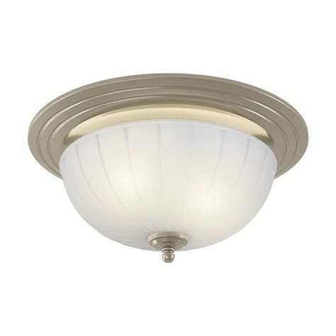 Decorative Brushed Nickel 70 Cfm Ceiling Exhaust Bath Fan