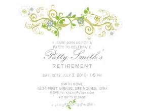 Retirement Invitation Templates by Idesign A Retirement Invitation