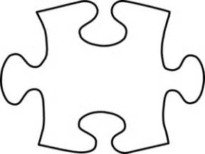 Large Puzzle Template by White Puzzle Large Clip At Clker Vector