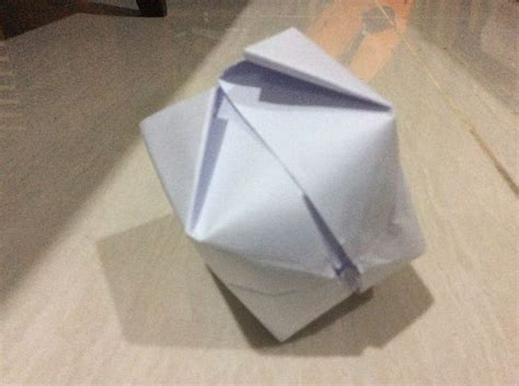 Origami Balon - how to make an origami balloon 8 steps with pictures