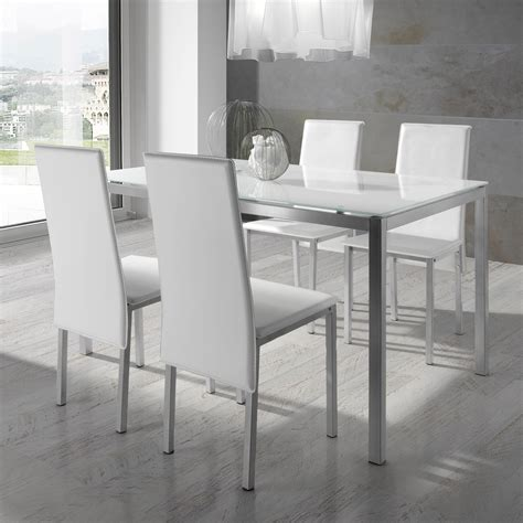 Chaise Pour Table En Verre by Table Chaise Salle Manger