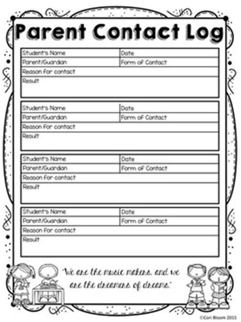 parent information sheet template editable student information sheet parent contact log