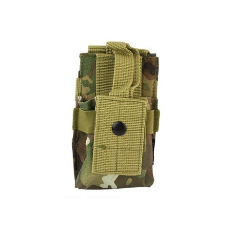 pouch molle molle radio utility pouch multicam iron site airsoft shop