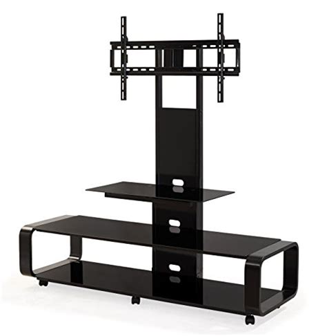 80 Inch Tv Stand With Mount by Transdeco Td655b Multi Function Tv Stand With Universal