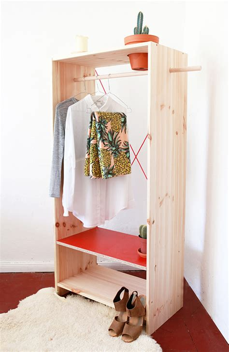 diy armoire closet tuesday s girl in plain site sfgirlbybay