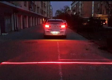 Laser Fog Light 1 anti collision rear end car laser safety fog taillight