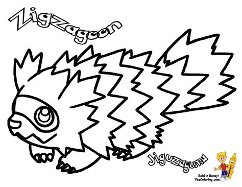 pokemon coloring pages poochyena poochyena coloring pages az coloring pages