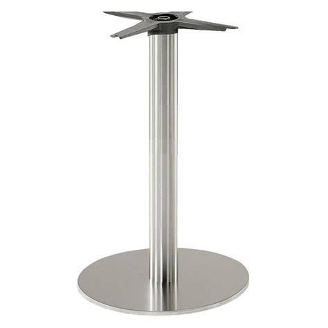 dining table bases the contract chair company inox dining table base