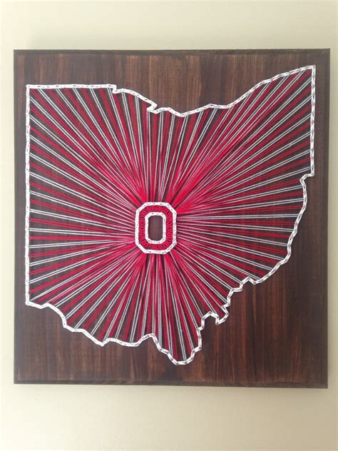 String Ohio - string ohio state state sign
