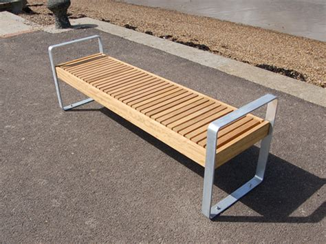 timber bench seating elements open frame bench seat