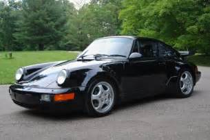1991 Porsche 911 Turbo 1991 Porsche 911 Turbo Only 19k Actual Black On