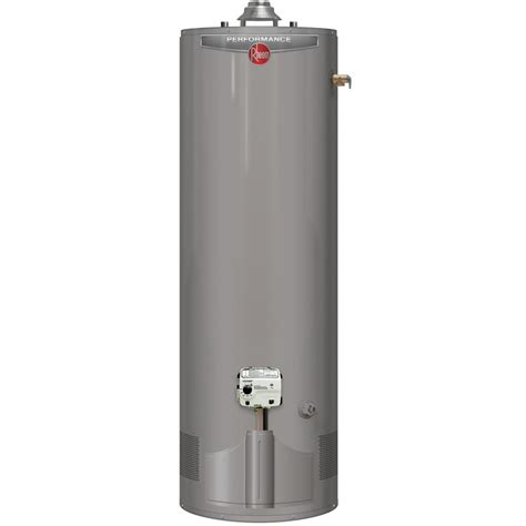 Water Heater Gas Niko rheem performance 50 gal 6 year 38 000 btu gas water heater xg50t06ec38u0 the