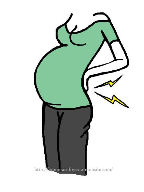 douleur dorsale pendant la grossesse